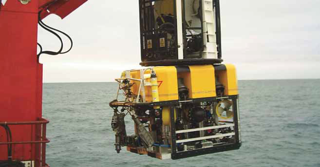 Hercules ROV used Dynautics subsurface autopilot