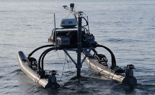 Custom boat design using USV control system from Dynautics